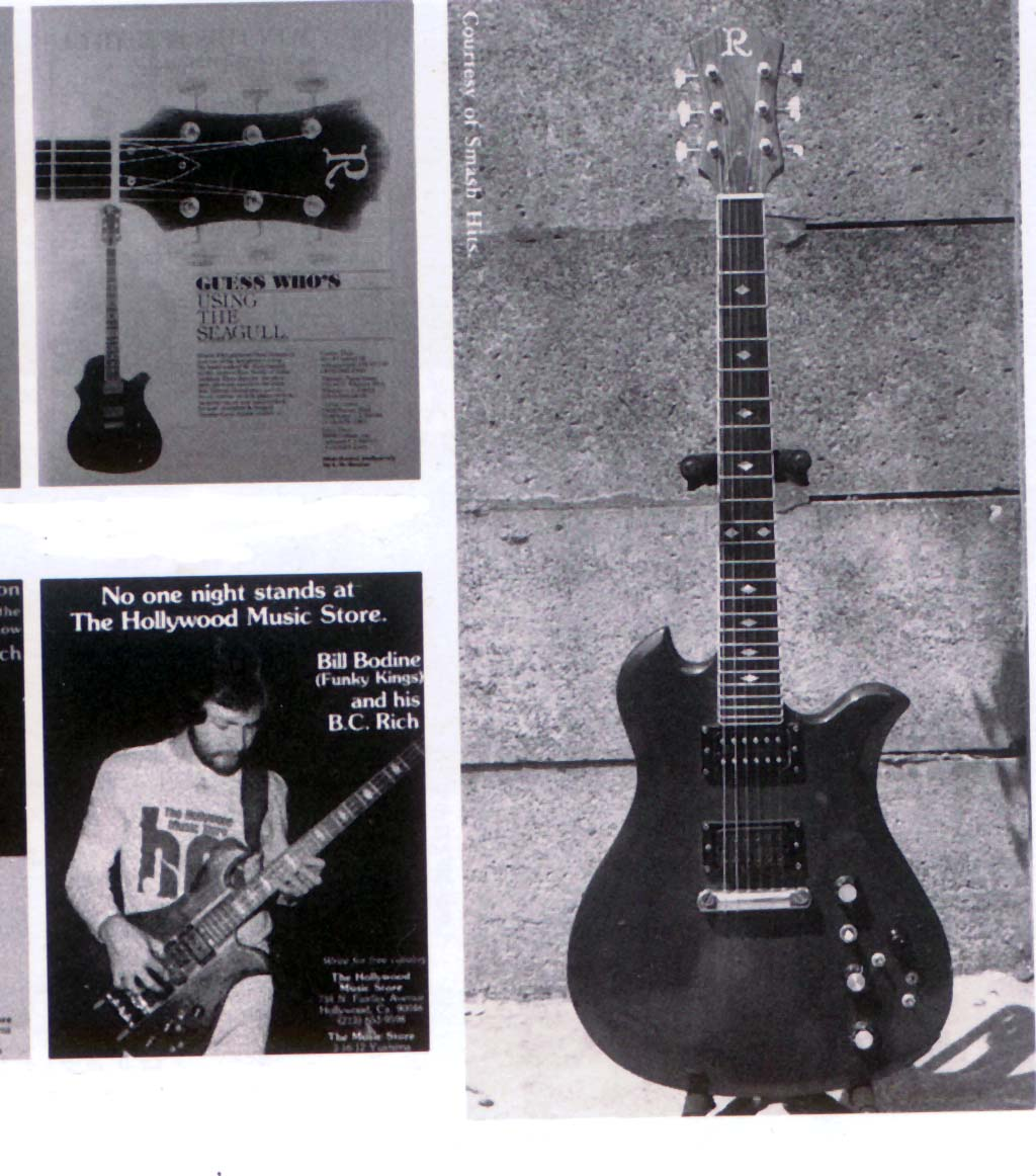 History Of B C Rich