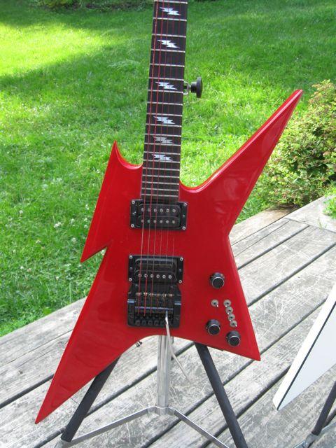 bc rich ironbird red